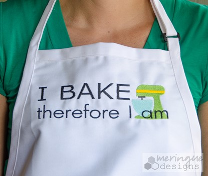 Picture of I Bake Therefore I Am
